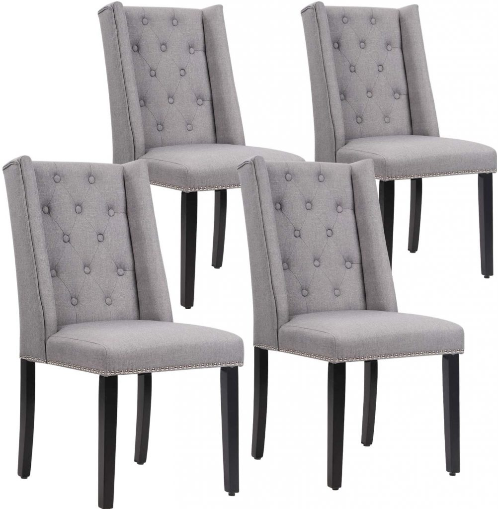 Vnewone Wood Dining Chairs