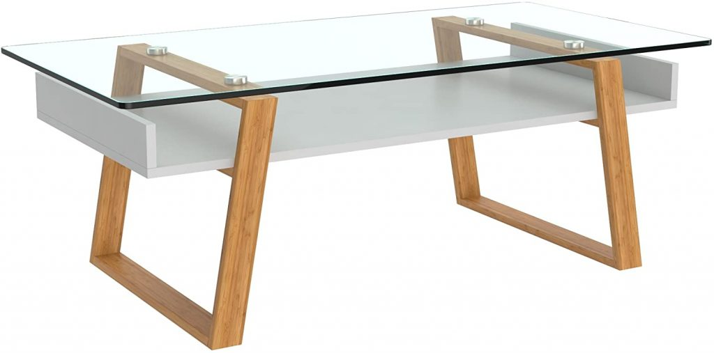 bonVIVO White Coffee Table Donatella