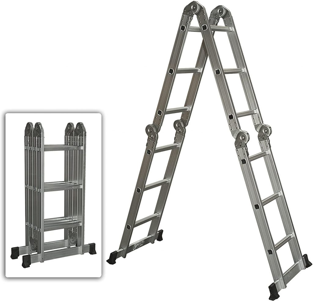 Best Choice Products Multi-Purpose Aluminum Ladder