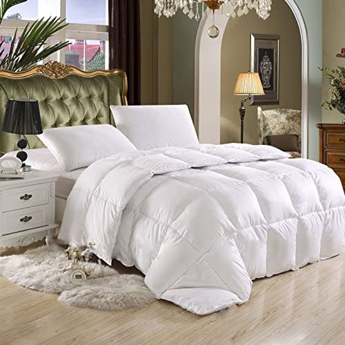 California King (Cal King) Hard-to-FIND 90 Oz Fill Weight Goose Down Alternative Comforter