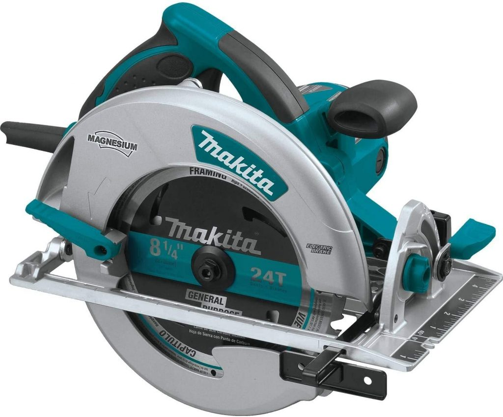 Magnesium Circular Saw with L.E.D. Lights