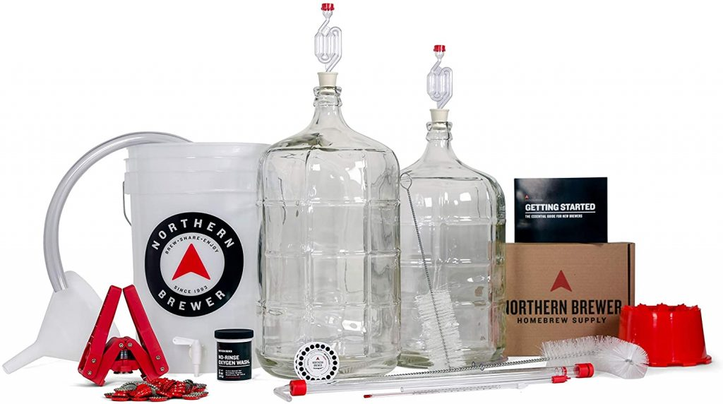 Northern Brewer Deluxe Homebrew Kit (Fresh Squished IPA)