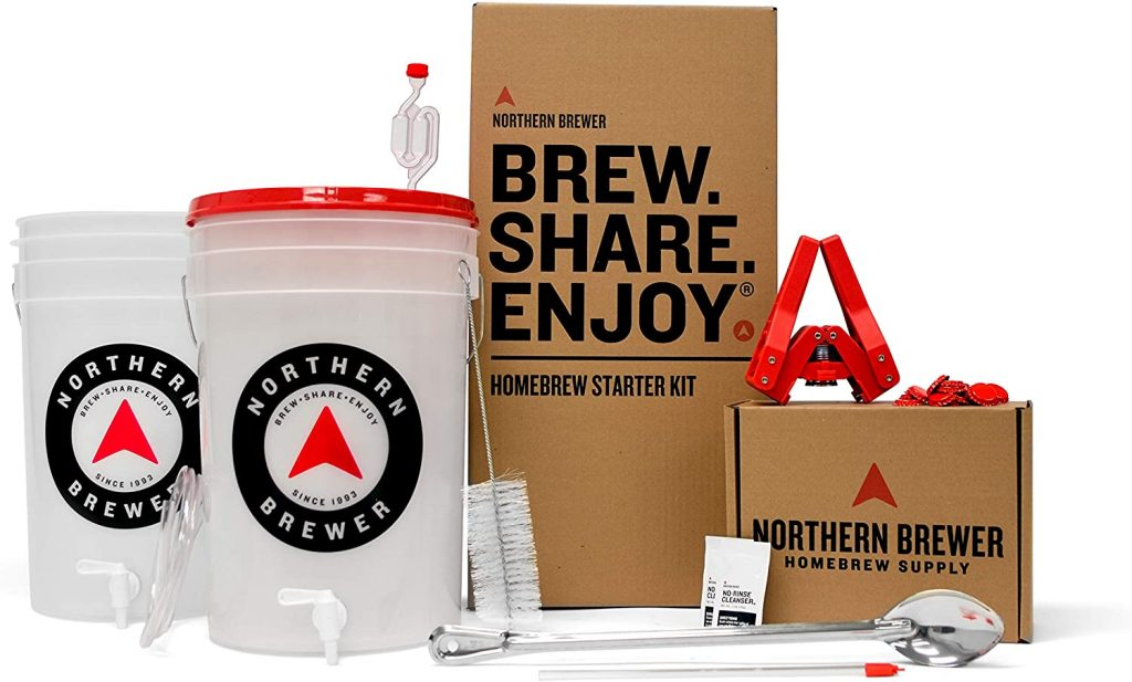 Northern Brewer - Essential Brew Kit, (Block Party Amber)