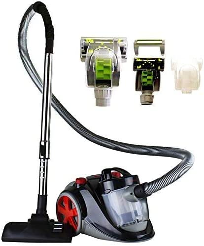 Ovente Electric Bagless Lightweight Canister Vacuum Cleaner