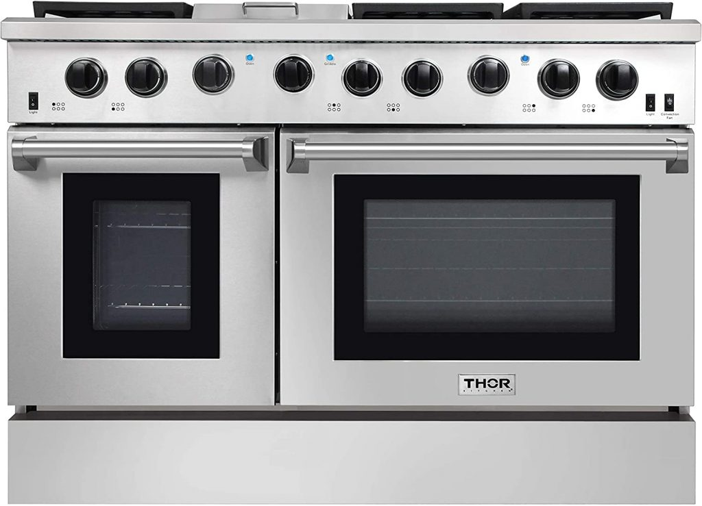 Thor Kitchen 4807 Natural Propane Gas Stainless Steel Range