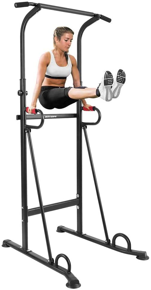 ANTOPY Power Tower Workout Dip Station Pull Up Bar