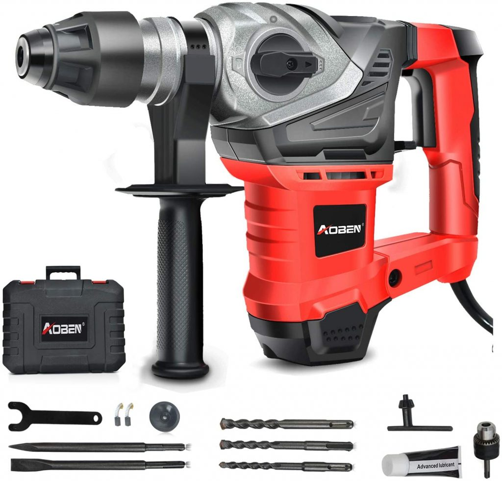 AOBEN SDS-Plus Rotary Hammer Drill with Vibration Control