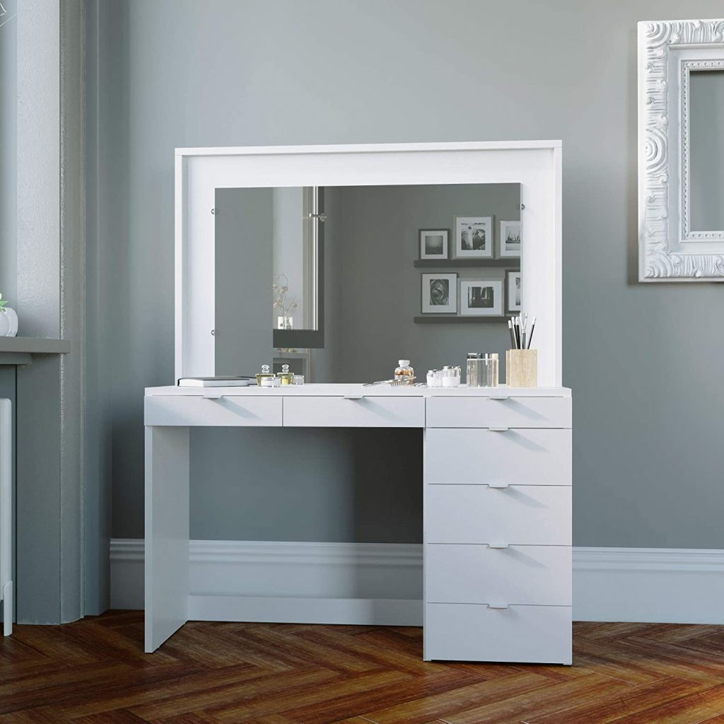 Boahaus Dressing Table with 7 Drawers
