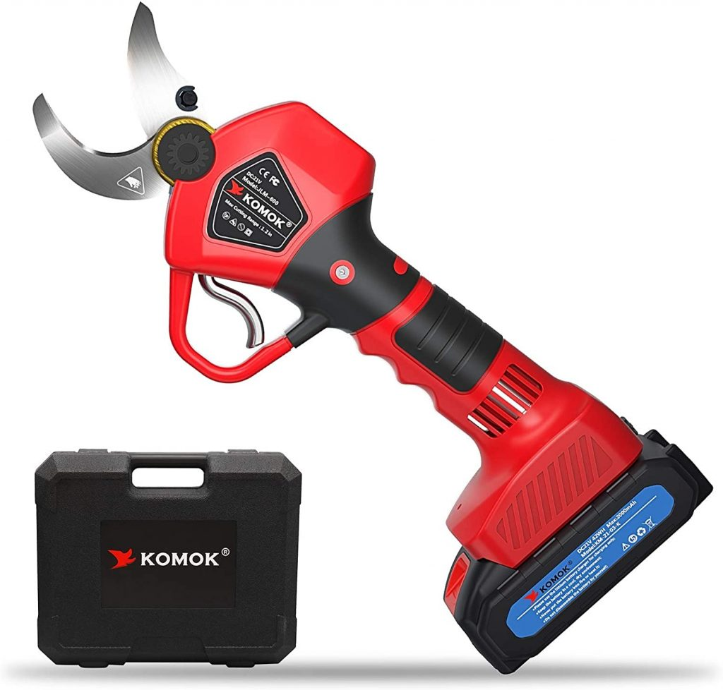 KOMOK Professional Cordless Electric Pruning Shears