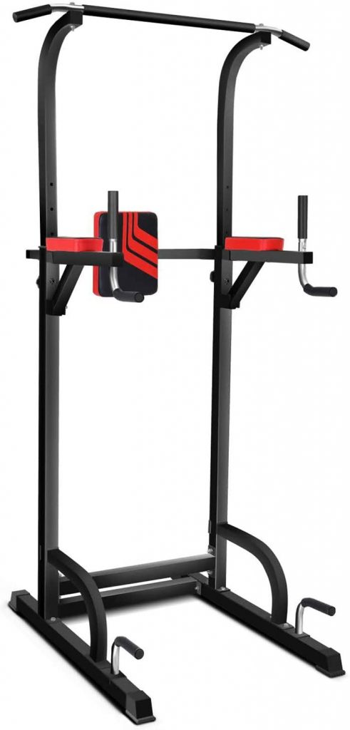 MAGIC FIT Power Tower Dip Pull Up Station Multi-Function Workout Equipment