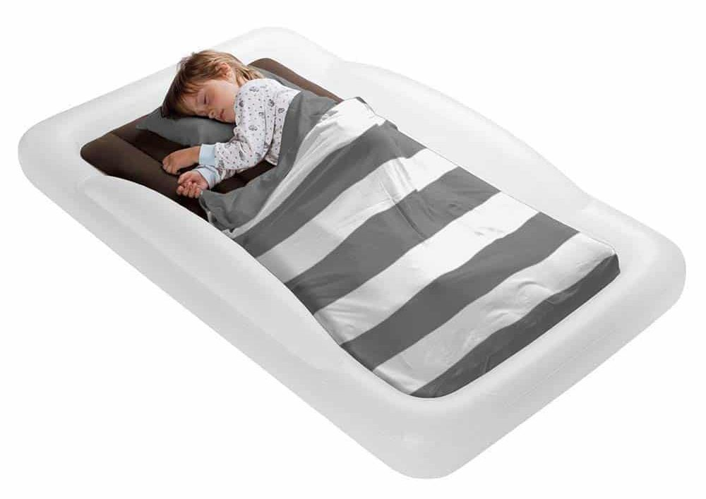 The Shrunks Toddler Travel Bed Portable Inflatable Air Mattress