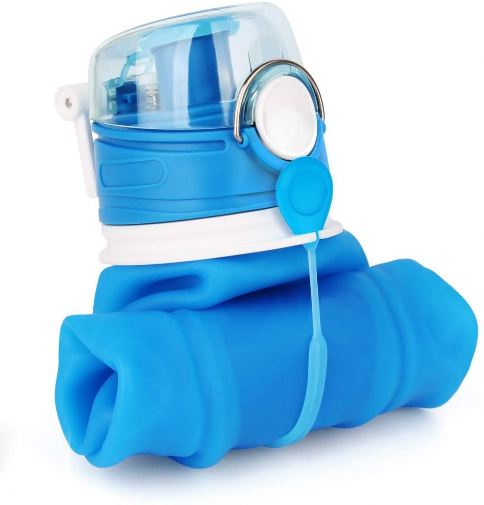 Valourgo 35 oz Collapsible Water Bottle
